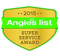 2015 Angies List - Super Service Award