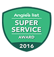 2016 Angies List - Super Service Award