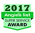 2017 Angies List - Super Service Award