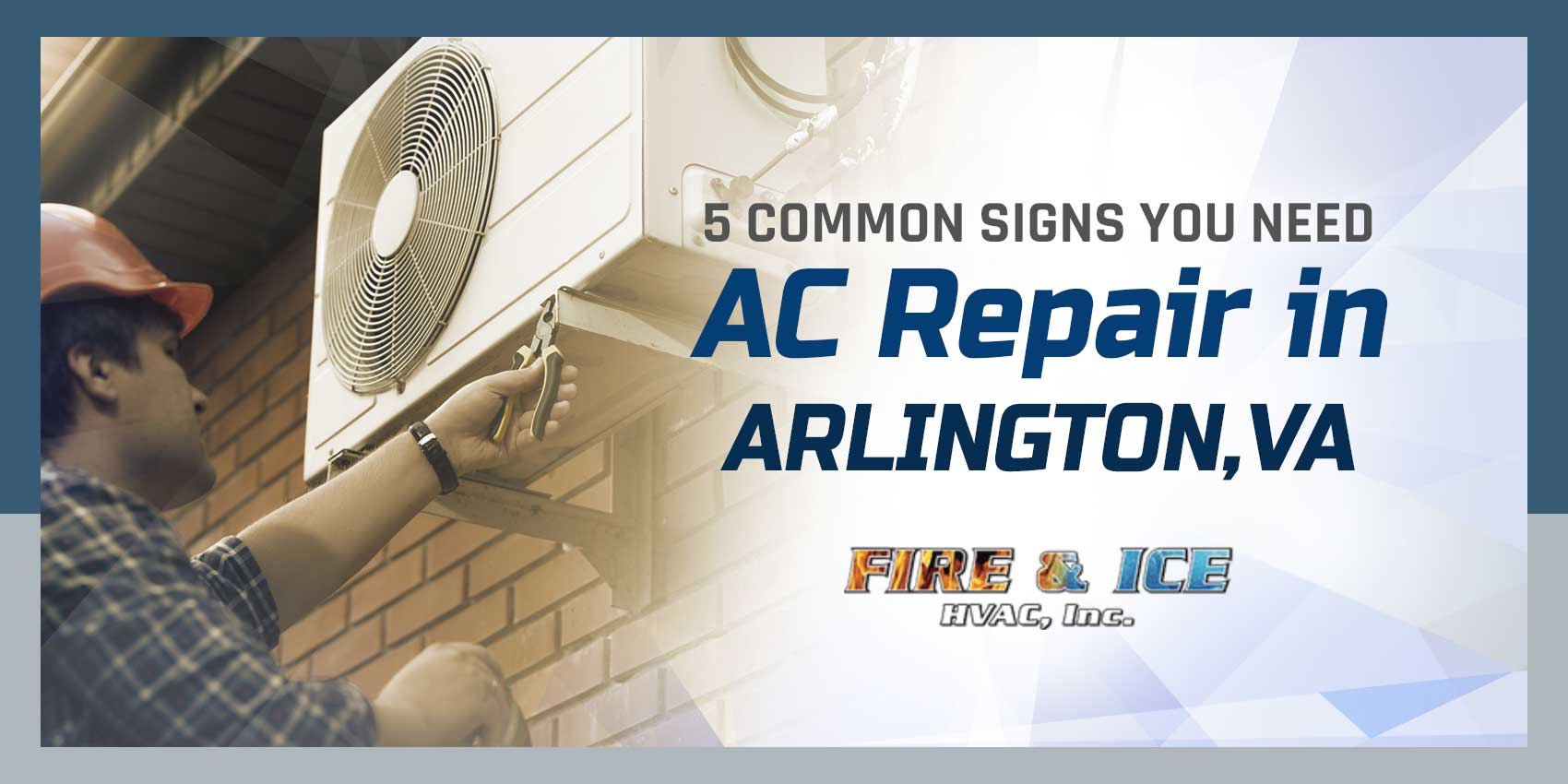 5 Common Signs You Need AC Repair in Arlington, VA