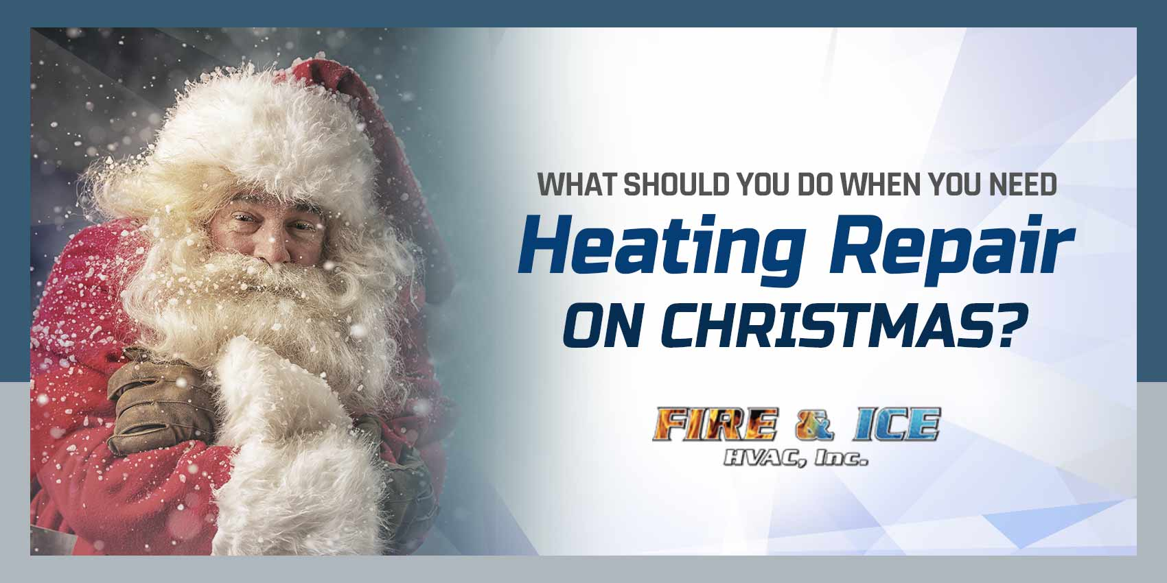 What Should You Do When You Need Heating Repair on Christmas?