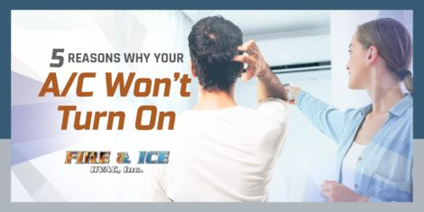 5 Reasons Why Your A/C Won't Turn On