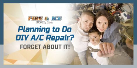 Planning to Do DIY A/C Repair? Forget About It!